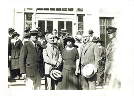 Photograph of members of the Halifax Health Commission in Massachusetts