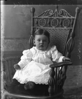 Photograph of child of Mrs. Dennison