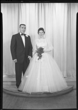 Photograph of Mr. and Mrs. Aiken on their wedding day