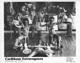 Photograph featuring dancers and musicians