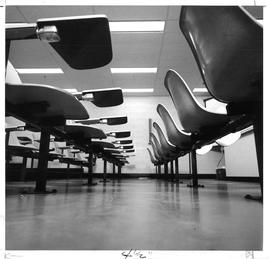 Photograph of a classroom in the Killam Memorial Library