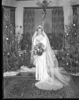 Photograph from Mrs. Lois Charles wedding