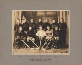Photograph of Law Hockey Team - Interfaculty Champions