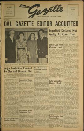 Dalhousie Gazette, Volume 85, Issue 18