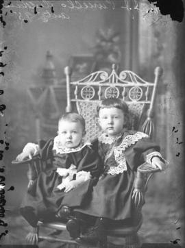 Photograph of Mrs. J. J. Purcell's children