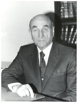 Photograph of Dr. Edwin Fraser Ross