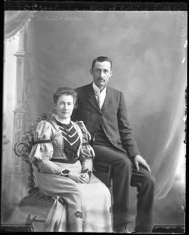 Photograph of Mr. & Mrs. J.D. Crookshanks