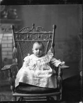 Photograph of the baby of Mrs. Richard Baman