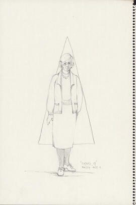 Costume design for Betty : Act II