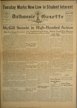 Dalhousie Gazette, Volume 72, Issue 4