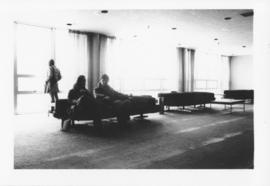 Photograph of a lounge area in the Student Union Building