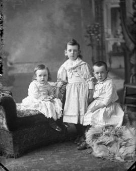 Photograph of D. C. McMillan's children