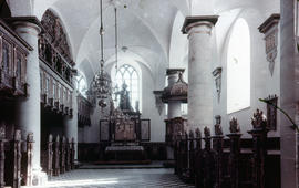 Photograph of the chapel in Kronborg Castle (Slotskirke)