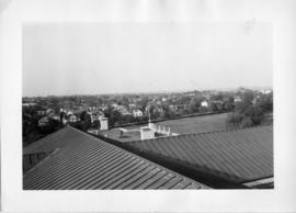 Photograph taken from the roof of the Arts & Administration Building