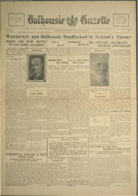 Dalhousie Gazette, Volume 60, Issue 2