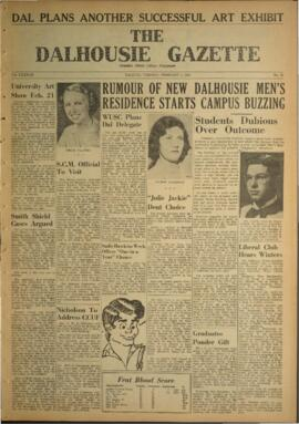 The Dalhousie Gazette, Volume 87, Issue 13