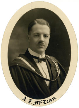 Portrait of Allan Lockhart McLean : Class of 1926