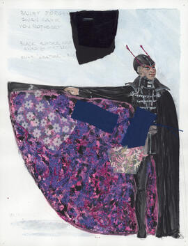 Costume design for Von Rothbart