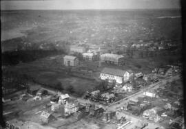 Aerial views of Carleton campus