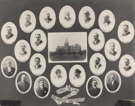 Composite photograph of Faculty of Law class of 1919
