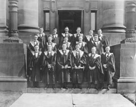 Photograph of the Nova Scotia Technical College graduating class of 1925