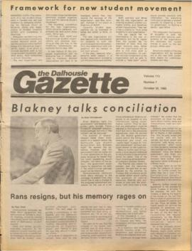 The Dalhousie Gazette, Volume 113, Issue 7
