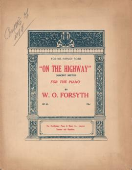On the Highway: concert sketch for the piano