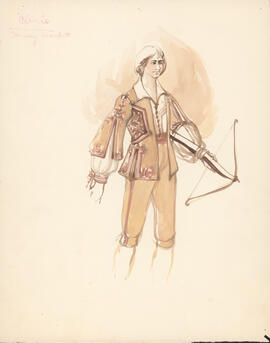 Costume design for Curio