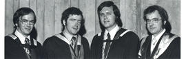 Photograph of Dalhousie Award Winners 1974