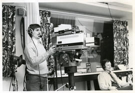 Photograph of Lets Talk About Sex television series being filmed