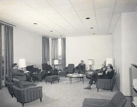 Photograph of the interior of the Weldon Law Building