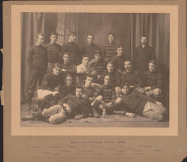 Photograph of Dalhousie Football Team, 1898
