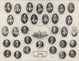 Composite photograph of Faculty of Law class of 1926