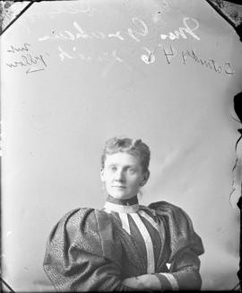 Photograph of Mrs. Graham