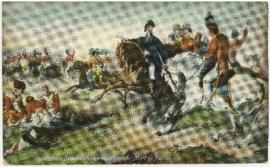 Postcard of Waterloo - Derniere charge de Wellington. Motrt de Picton