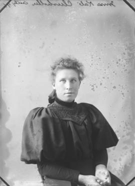 Photograph of Miss Kate Chisholm