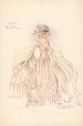 Costume design for Extra #1