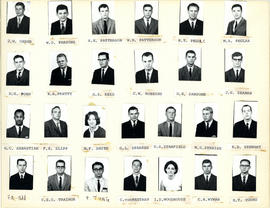Composite Photograph of Faculty of Medicine First Year Class 1964-1965 - Oxner to Young