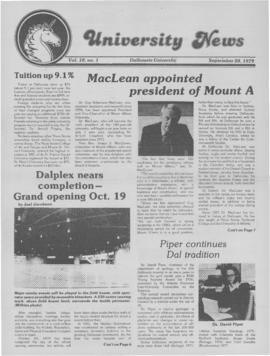 University News, Volume 10, Issue 1