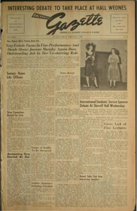 Dalhousie Gazette, Volume 84, Issue 28