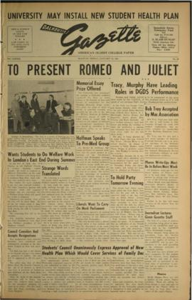 Dalhousie Gazette, Volume 83, Issue 23