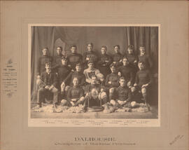 Photograph of Dalhousie Champions of the Maritime Provinces - Football Team