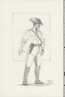 Costume design for Harry