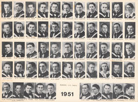 Composite Photograph of the Faculty of Medicine - Class of 1951