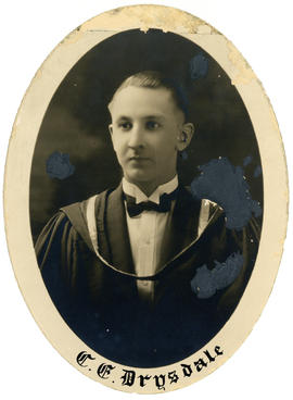 Portrait of Cyril Ellis Drysdale : Class of 1926