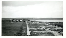 Photograph of the King's Bastion at the Fortress of Louisbourg
