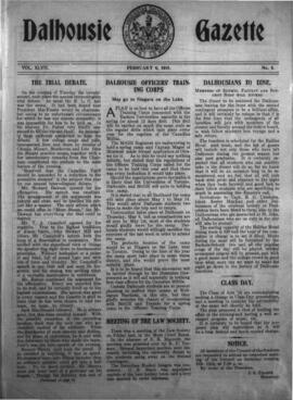 The Dalhousie Gazette, Volume 47, Issue 8