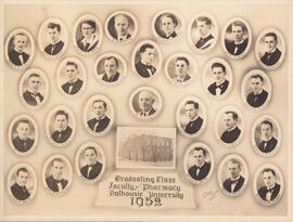 Composite photoragph of the Graduating Class, Faculty of Pharmacy