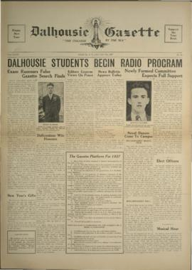 Dalhousie Gazette, Volume 69, Issue 11