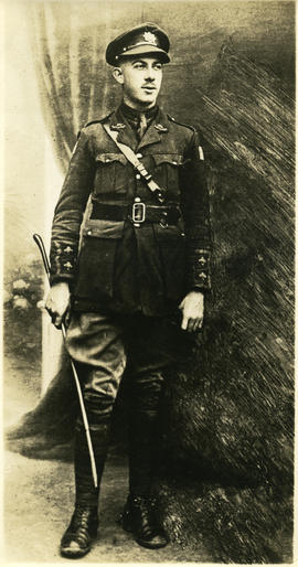 Photograph of an unidentified soldier